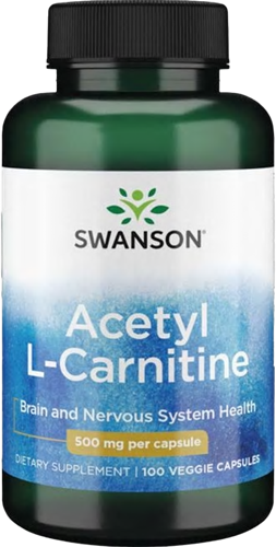 Swanson Acetyl L-Carnitine 500MG (100 caps)