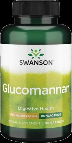 Swanson Glucomannan 665MG (90 caps)