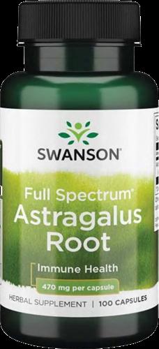Swanson Full Spectrum Astragalus Root 470MG (100 caps)