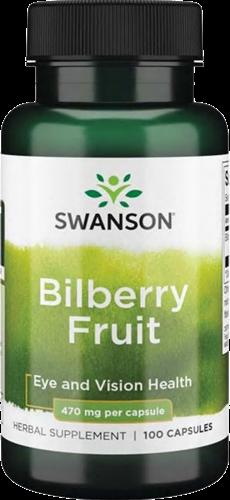 Swanson Bilberry Fruit 470MG (100 caps)