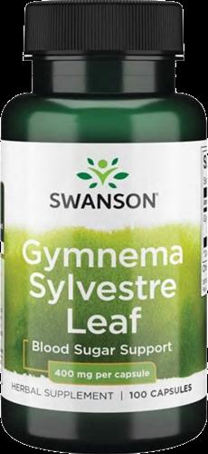 Swanson Gymnema Sylvestre Leaf 400MG (100 caps)