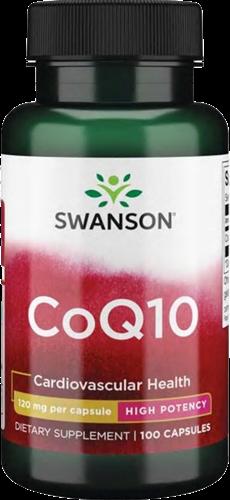 Swanson CoQ10 High Potency 120MG (100 caps)