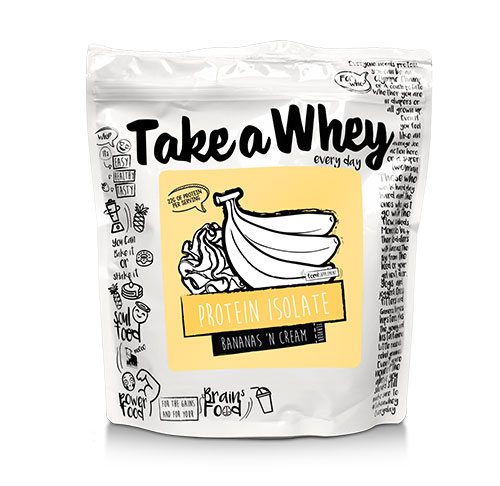 Take-a-Whey Isolate Protein (900 gr)