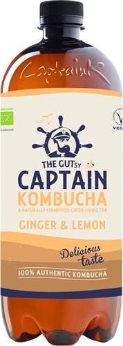 Captain Kombucha Ginger Lemon (1 x 1000 ml)