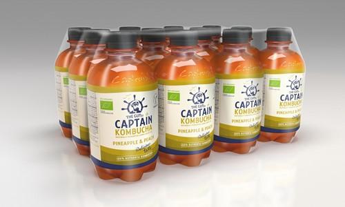 Captain Kombucha Pineapple (12 x 400 ml)