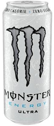 Monster Energy Ultra White (1 x 500 ml)