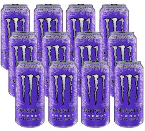 Monster Energy Ultra Violet (12 x 500 ml)