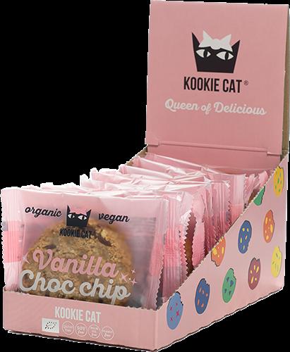 Kookie Cat Vanilla Choc Chip (12 x 50 gr)