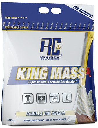 King Mass XL Vanilla Ice Cream (6750 gr)