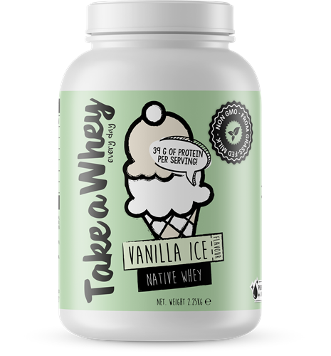 Take-a-whey Native Whey Vanilla Ice (2250 gr)