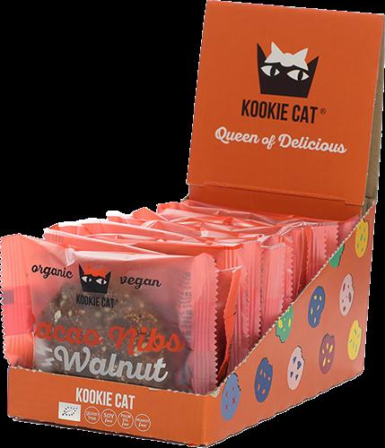 Kookie Cat Cacao Nibs Walnut (12 x 50 gr)