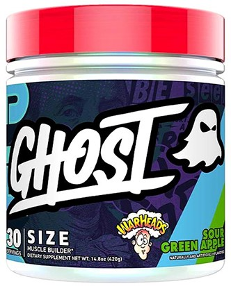 Ghost Size Warheads Sour Green Apple (348 gr)