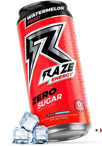 Raze Energy Drink Watermelon Frost (12 x 473 ml)