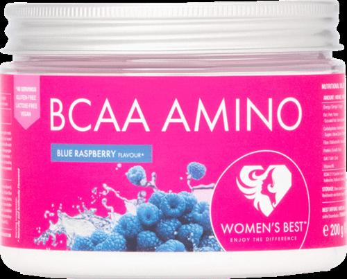 Women's Best BCAA Amino Blue Raspberry (200 gr)