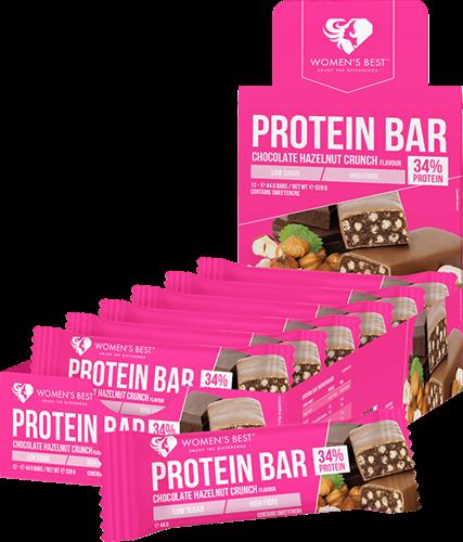 Women's Best Protein Bar Chocolate Hazelnut Crunch (12 x 44 gr)