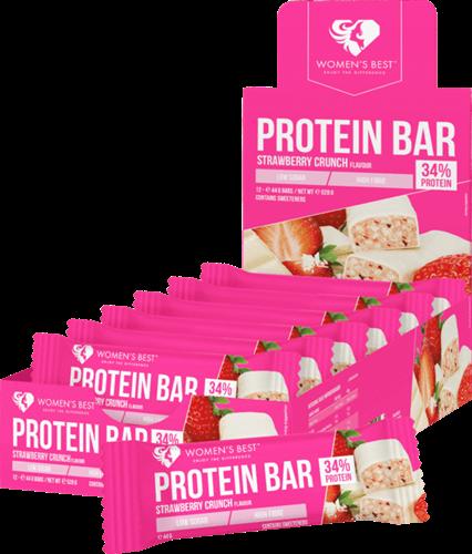 Women's Best Protein Bar Strawberry Crunch (12 x 44 gr)