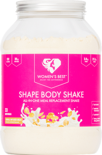 Women's Best Shape Body Shake Cereal Milk (1000 gr)