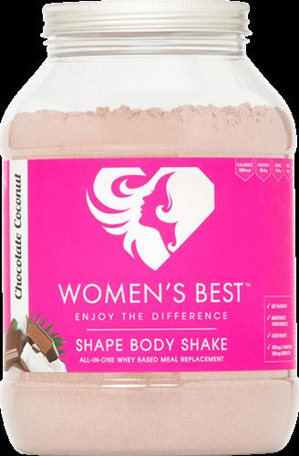 Women's Best Shape Body Shake Chocolate Coconut Sensation (1000 gr)