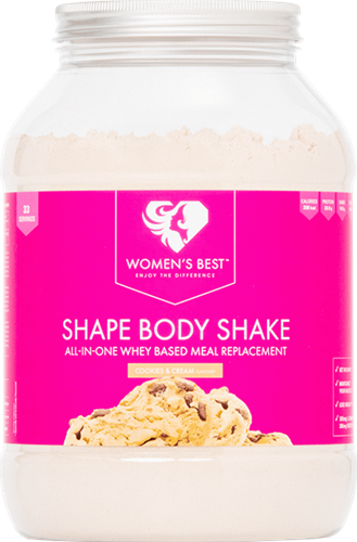 Women's Best Shape Body Shake Cookies & Cream (1000 gr)
