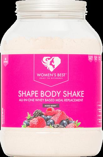 Women's Best Shape Body Shake Mixed Berry (1000 gr)