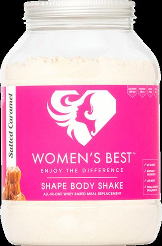 Women's Best Shape Body Shake Salted Caramel (1000 gr)