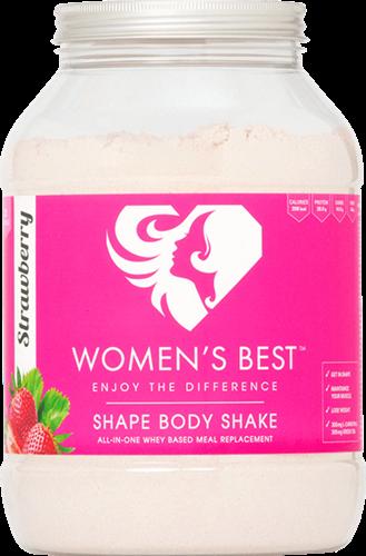 Women's Best Shape Body Shake Strawberry (1000 gr)