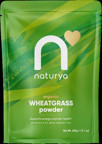 Naturya Organic Wheatgrass Powder (200 gr)