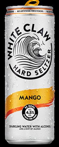 White Claw Hard Seltzer Mango (1 x 330 ml)