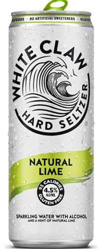 White Claw Hard Seltzer Natural Lime (1 x 330 ml)